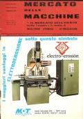 Mercato delle Macchine, n. 7-8 Anno XVI – luglio-agosto 1975 (MECCANICA – MACCHINE UTENSILI – E.M.O. DI PARIGI)