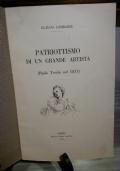 PATRIOTTISMO DI UN GRANDE ARTISTA: PAOLO TOSCHI NEL 1831