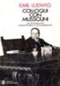 Colloqui con Mussolini. Un documento insostituibile e sconcertante