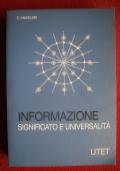 Informazione - Significato  ed Universalit�
