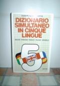 Dizionario simultaneo in cinque lingue