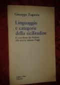 Linguaggio e categorie della sicilitudine: Il contributo dei siciliani alla poesia italiana d'oggi