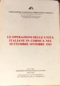 Le Operazioni delle Unità Italiane in Corsica nel Settembre Ottobre 1943