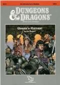 QUEEN'S HARVEST - Dungeons & Dragons Module B12 - In Inglese