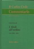 I titoli all'ordine (artt. 2008-2020)
