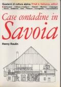 Case contadine in Savoia.