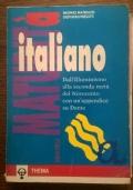 ITALIANO DALL' ILLUMINISMO ALLA SECONDA META' DEL NOVECENTO CON UN' APPENDICE SU DANTE