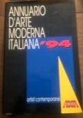 ANNUARIO D' ARTE MODERNA ITALIANA '94
