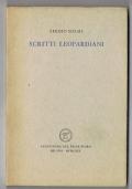 SCRITTI LEOPARDIANI - ALL' INSEGNA del PESCE d'ORO - 1969