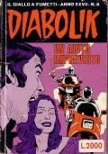 DIABOLIK UN AIUTO IMPREVISTO - N.8 ANNO 1988