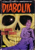 DIABOLIK L'OMBRA DELLA MORTE - N.4 ANNO 1994