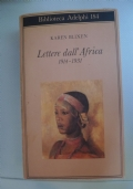 Lettere dall'Africa - 1914-1931