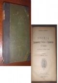 STORIA PARLAMENTARE POLITICA e DIPLOMATICA D'ITALIA - VOL. 1 (1848-1870)