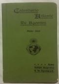 CALENDARIO ATLANTE DE AGOSTINI ANNO 1905