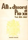 ATTI E DISCORSI DI PIO XII 1957 (luglio-dicembre)