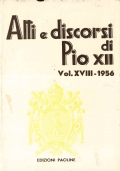ATTI E DISCORSI DI PIO XII 1956 (gennaio-giugno)