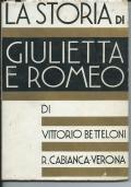 La storia di Giulietta e Romeo