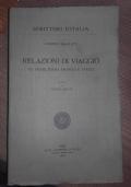 RELAZIONI DI VIAGGIO, IN INGHILTERRA FRANCIA E SVEZIA