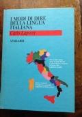 I MODI DI DIRE DELLA LINGUA ITALIANA