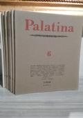 PALATINA : RIVISTA TRIMESTRALE DI LETTERE ED ARTI