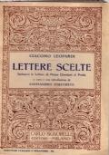 LETTERE SCELTE Inclusevi le lettere di Pietro Giordani al Poeta