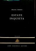 ESTATE INQUIETA - FRANK THIESS - La Piramide 2 - Aldo Martello editore - BA106-