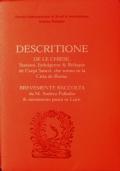 Descritione de le chiese, stationi, indulgenze & reliquie de corpi sancti, che sonno in la citta de Roma : brevemente raccolta da M. Andrea Palladio & novamente posta in luce