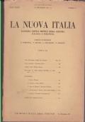LA NUOVA ITALIA RASSEGNA CRITICA MENSILE DELLA CULTURA ITALIANA E STRANIERA ANNO TERZO N° 5 , 20 MAGGIO 1932 X