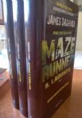 Maze Runner vol. 1-2-3 (il labirinto, la fuga, la rivelazione) - trilogia completa