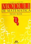 Moduli di matematica testo base 1A