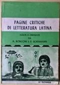 Pagine critiche di letteratura latina