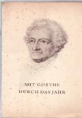 Mit Goethe Durch das jahr 1960