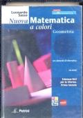 NUOVA MATEMATICA A COLORI geometria , senza CD-ROM  nè quaderno di recupero - edizione blu