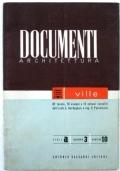 DOCUMENTI ARCHITETTURA - VILLE 82 TAVOLE, 76 ESEMPI E 12 SCHEMI