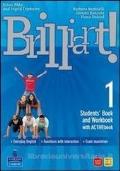 BRILLIANT! 1 - Students' Book and Workbook 1 + ACTIVEbook 1 + Culture Book 1 con dvd1