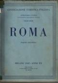 ATTRAVERSO L'ITALIA - ROMA - illustrazione delle regioni italiane - VOLUME X