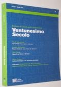 RIVISTA VENTUNESIMO SECOLO ANNO 1 N.1 MARZO 2002
