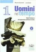 UOMINI NEL TEMPO 1 - DALLA PREISTORIA ALL'ESPANSIONE DI ROMA IN ITALIA + CITTADINANZA E COSTITUZIONE