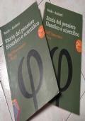 STORIA DEL PENSIERO FILOSOFICO E SCIENTIFICO 2A+2B