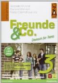 FREUNDE & CO. 3 Kursbuch + Arbeitsbuch + Activebook + Schulbatt + Blablabla + CD