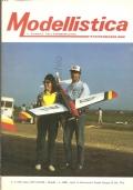 Modellistica: il giornale dell'aeromodellista 3 (330) Folgaria – Passo Coe – Pian Cansiglio – Norimberga 1987 – Model Aviation 4-60 – Canard  - Impianto fumogeno per pulsogetti, Magnum (Siccom)
