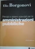 Principi e sistemi aziendali per le amministrazioni pubbliche