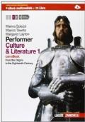 Performer. Culture and literature. Con espansione online. Per le Scuole superiori. Con DVD-ROM: 1