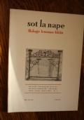 Sot la nape- Anno XLII -N' 3 - Marz 1992