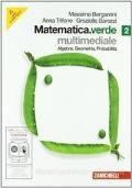 Matematica.verde. Algebra. Geometria. Probabilità. Con espansione online. Per le Scuole superiori. Con DVD. vol.2