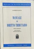 MANUALE DI DIRITTO TRIBUTARIO PARTE GENERALE