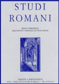 Studi romani : rivista bimestrale dell'Istituto di studi romani
