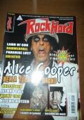 Rock Hard  (n. 68 luglio-agosto 2008) Lamb of god, Alice Cooper, Paradise lost, Kreator, Hammerfall, Unleashed, Jethro tull, Klimt 1918, Ritchie Kotzen