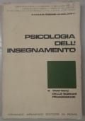 PSICOLOGIA DELL'INSEGNAMENTO
