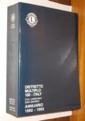 LIONS CLUB DISTRETTO MULTIPLO 108 ITALY ANNUARIO 1992-1993